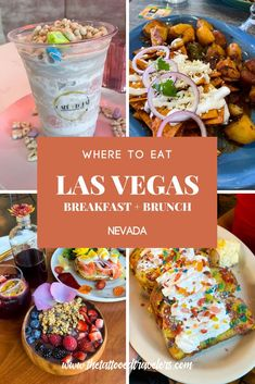 Vacation Food, Vegas Vacation, Best Brunch Places, Best Places To Eat, Food Travel, Usa Travel, Bagel Cafe, Las Vegas Food, Quick Travel
