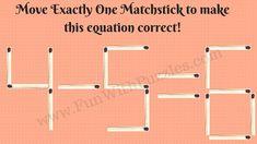 Matchstick Math Puzzle-4
