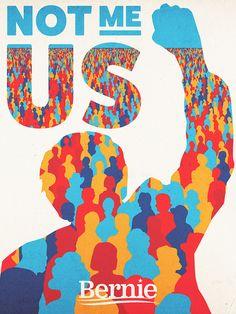 Creative Politics, Feelthebern, Bernie, Sanders, and Poster image ideas & inspiration on Designspiration Political Posters, Political Campaign, Political Art, Presidential Campaign Posters, Political Images, Protest Posters, Political Science, Political Cartoons, Science Fiction