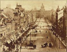 Václavské náměstí 1910