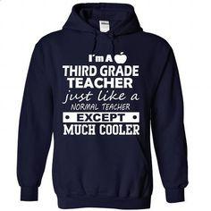 Third Grade Teacher - #sweater #wholesale sweatshirts. ORDER HERE => https://www.sunfrog.com/LifeStyle/Third-Grade-Teacher-4795-NavyBlue-Hoodie.html?60505