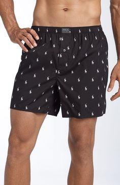 POLO RALPH LAUREN Woven Boxer Shorts.  poloralphlauren  cloth   Fer, Boxer  Pour e8c173ba0c9a