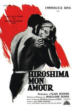 Hiroshima Mon Amour - French Style ポスター
