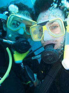 Nina Dobrev and Ian Somerhalder Scuba-Dive in Port Douglas, Australia    SO CUTE