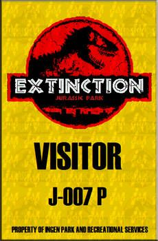 Jurassic Park Pass Extinction Custom by BishanMashrur on DeviantArt Birthday Party At Park, Leo Birthday, Dinosaur Birthday Party, Boy Birthday Parties, Fête Jurassic Park, Jurassic Park Costume, Jurassic World Dinosaurs, Jurrassic Park, Deviantart