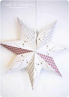Advent Star Makeover - by Craft & Creativity