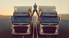 Volvo Trucks presents 'The Epic Split' featuring Jean-Claude Van Damme - http://www.creativeguerrillamarketing.com/viral-marketing/volvo-trucks-presents-epic-split-featuring-jean-claude-van-damme/