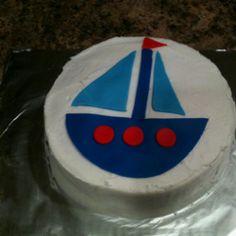 Boat smash cake