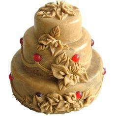 Soap Mold mold Silicone Mold Flexible Mold DIY Handmade Birthday Cake Soap