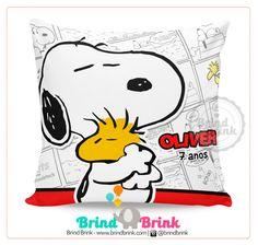 Almofada para Lembrancinha Snoopy - Brind Brink