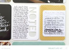 Project Life® 2014 | Week Eleven (Studio Calico Project Life® Kit)