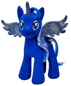 Princess Luna Build-a-Bear Plush. YEEEESSSS!!!!!! OMG YES! This.Is.AMAZING!!!