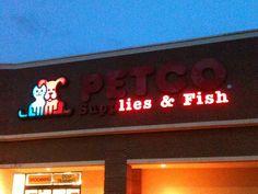 This Pet Shop Needs To Fix Its Sign