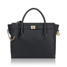 76becda1f67 Solo Madison Tote Bag with Laptop Compartment Black -- Click image to  review more details