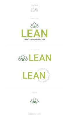 Custom logos designed for LEAN, a wellness brand in the Boston area. Click through to view the full branding project from start to finish! #logos #simplelogos #logo #logodesign #logoinspo #brandidentity #green #greenlogos #lotus #yoga #wellness #health #fitness Custom Logo Design, Custom Logos, Fitness Logo, Health Fitness, Branding Portfolio, Yoga Logo, Lotus Yoga, Boston Area, Green Logo