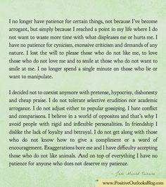 In Friendship I Dislike The Lack Of Loyalty   Positive Outlooks Blog
