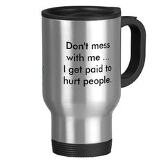 King of Pain Physical Therapy Travel Mug