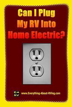 Here is our answer to: Can I Plug My RV Into Home Electric? Answer: Yes you can plug your RV into your home electric, but you will need some.....Read More: http://www.everything-about-rving.com/can-i-plug-my-fleetwood-rv-into-home-electric.html