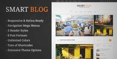 Download and review of Smart Blog - WordPress Theme For Personal Blog, one of the best Themeforest Magazine & Blogs themes {Download & review at|Review and download at} {|-> }http://best-wordpress-theme.net/smart-personal-download-review/