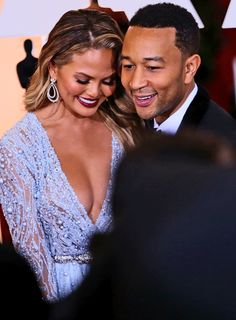 Happy half a year, Luna Simone Stevens! Chrissy Teigen and John Legend took to Instagram today to celebrate their daughter turning 6 months old, and we can't get over how much she already resembles her famous mom and dad. The proud parents each shared a 'gram and sweet words dedicated to their