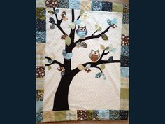 Owl Baby Quilt... I need to find someone who can sew!