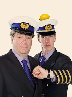 Roger Allam and Benedict Cumberbatch on Cabin Pressure! If you haven't listened to the radio series you need to! Benedict Cumberbatch News, Stephanie Cole, Roger Allam, Bing Bong, Cabin Pressure, Benedict And Martin, Bbc Radio, Martin Freeman, British Actors