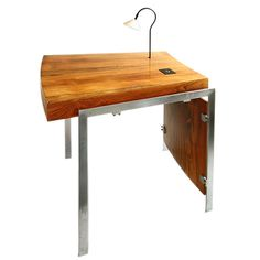 A desk by Jorgen Groth for Gunnar Petersen's Tegnestue. Denmark,  1960's. (This is perfect, it comes with an ashtray hidden in a drawer)