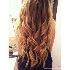 Włosy loki ❤ liked on Polyvore featuring hair