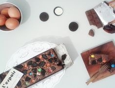 my mix oreo feat m&m brownies...  for JABODETABEK BANDUNG yang mau order bisaa instagram lespoir_id. makasiii