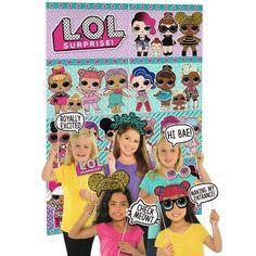 Birthday Decoration//party supplies LOL Surprise Confetti pop Piñata Party Game