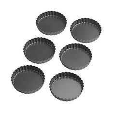 Recipe Bakeware  Wilton Perfect Results 4.75 Inch Round Tart/Quiche Pan, Set of…