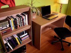 100% recyclable cardboard furniture. Piiiimp!