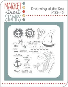 i like this stamp and think market street stamps is out of business. Dreaming of the Sea - Market Street Stamps $15.00