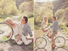 vintage bike + perfect style
