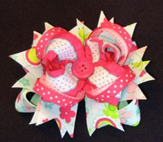 Learn how to make hair bows #rrrhairbow
