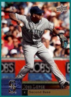 José Celestino Lopez 2B Seattle Mariners, Mlb, Baseball Cards, Sports, Tops, Hs Sports, Sport