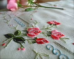 Check out this item in my Etsy shop https://www.etsy.com/uk/listing/466300385/hand-embroidered-minature-roses-vintage