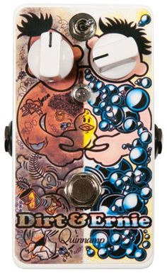 Quinnamp Dirt & Ernie guitar pedal