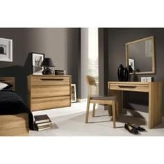 Complete bedroom set E Kyme, 5 pieces, partly solid, color: wild oak natural Easy furniture
