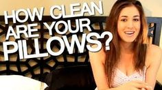 Clean My Space shows you how and when to wash your pillows in the washing machine, depending on what kind of pillows you own.