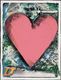 A Heart At the Opera by Jim Dine