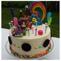 Wreck It Ralph Party on Pinterest   Cake Wrecks, Birthday Cakes and
