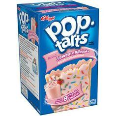 Poptarts ! Strawberry milkshake