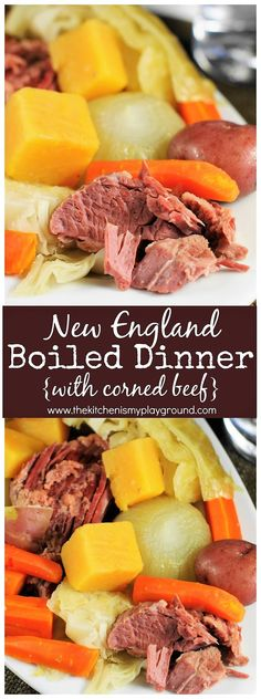 New England Boiled Dinner with Corned Beef picture