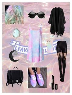 Pastel Goth (3) by frogie13 on Polyvore featuring Mode, Acne Studios, Jewel Exclusive, ZeroUV, Casetify and NYX