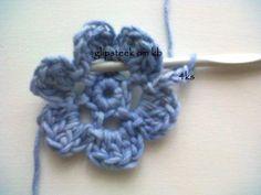 Hekel Idees: Tutoriaal: Hoe om 'n Ierse Roos te hekel Afrikaans, Hoe, Crochet Flowers, Crochet Necklace, Knitting, Ideas, Crocheted Flowers, Crochet Collar, Tricot