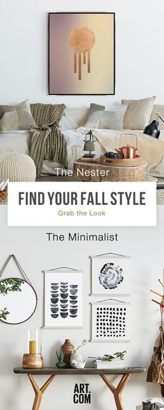 Are you a Nester? A Minimalist? Or something else? Find our at Art.com.
