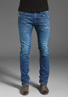 Diesel Thavar Slim Leg in 0801C Diesel Jeans e4ae7752d0