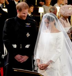 35daba00bd1f46 Prince Harry and Meghan Markle stand at the altar during their wedding in  St George's Chapel at Windsor Castle on May 19 2018 in Windsor England