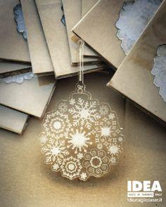 Plexiglas Christmas Decoration - Palla di Natale Plexiglas